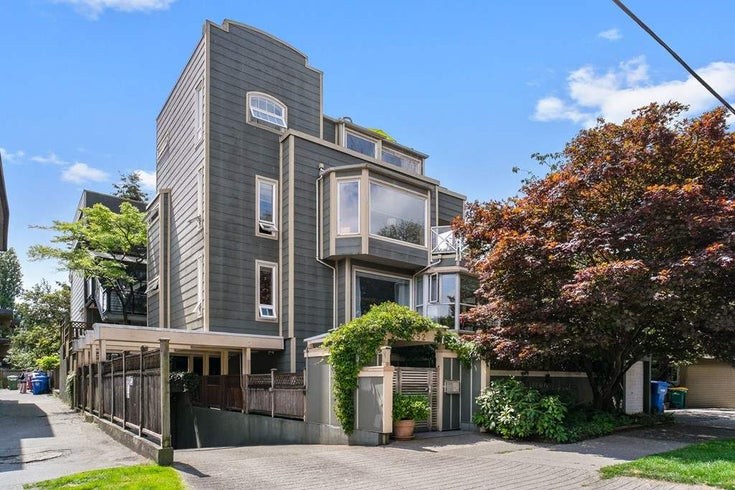 201 2252 W 5TH AVENUE - Kitsilano Townhouse for sale, 1 Bedroom (R2476153)