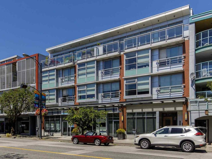 304 4375 W 10TH AVENUE - Point Grey Apartment/Condo for sale, 1 Bedroom (R2476272)