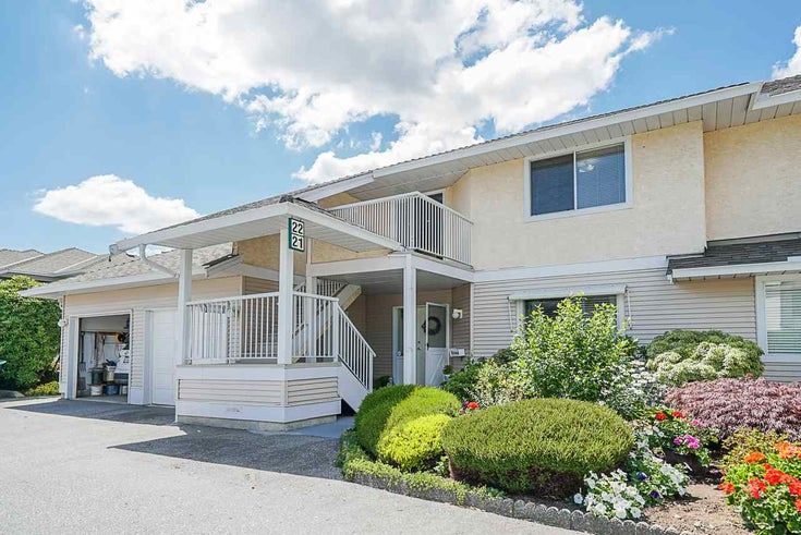 22 2475 EMERSON STREET - Abbotsford West Townhouse for sale, 2 Bedrooms (R2476586)