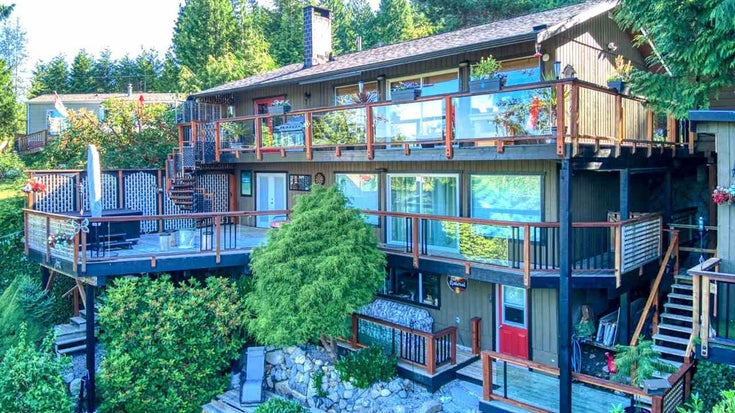 12843 GULFVIEW ROAD - Pender Harbour Egmont House/Single Family for sale, 2 Bedrooms (R2476614)