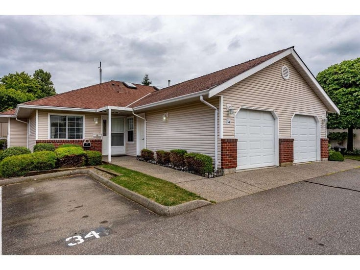 34 2081 WINFIELD DRIVE - Abbotsford East Townhouse for sale, 2 Bedrooms (R2476652)