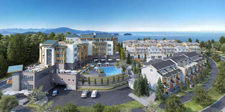 SL #27 THE TOWNHOMES AT TOUCHSTONE VILLAGE - Gibsons & Area Townhouse for sale, 1 Bedroom (R2476900)