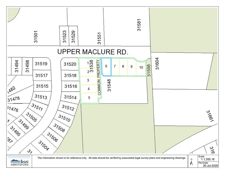 LT.6 31538 UPPER MACLURE ROAD - Abbotsford West  for sale(R2477269)
