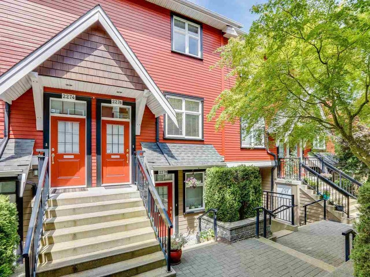 2276 ST. GEORGE STREET - Mount Pleasant VE Townhouse for sale, 2 Bedrooms (R2477275)