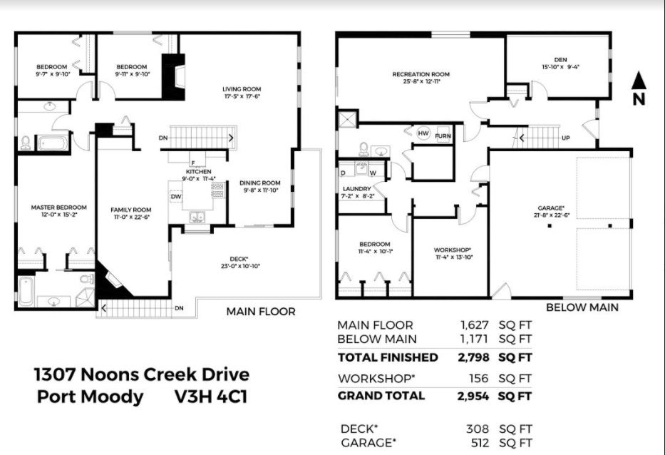 1307 NOONS CREEK DRIVE - Mountain Meadows House/Single Family for sale, 4 Bedrooms (R2477287) - #40