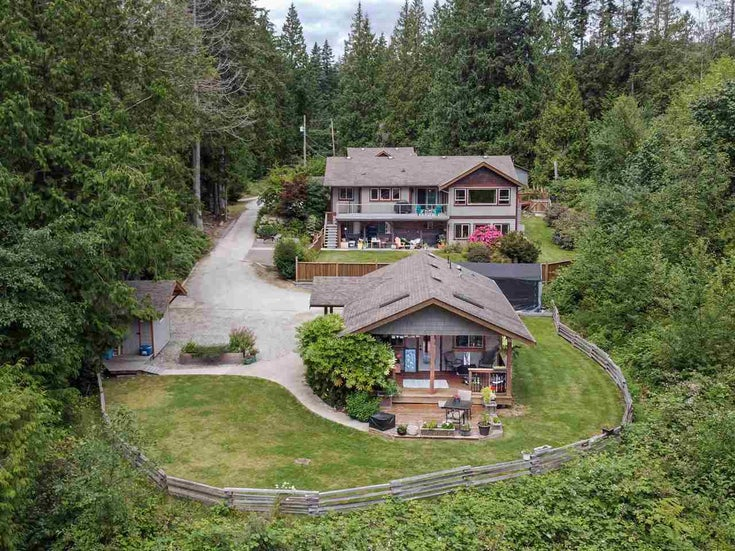 1248 TIMBERLAND ROAD - Roberts Creek House with Acreage for sale, 5 Bedrooms (R2477516)
