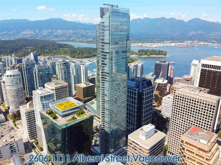 2606 1111 ALBERNI STREET - West End VW Apartment/Condo for sale, 1 Bedroom (R2478466)