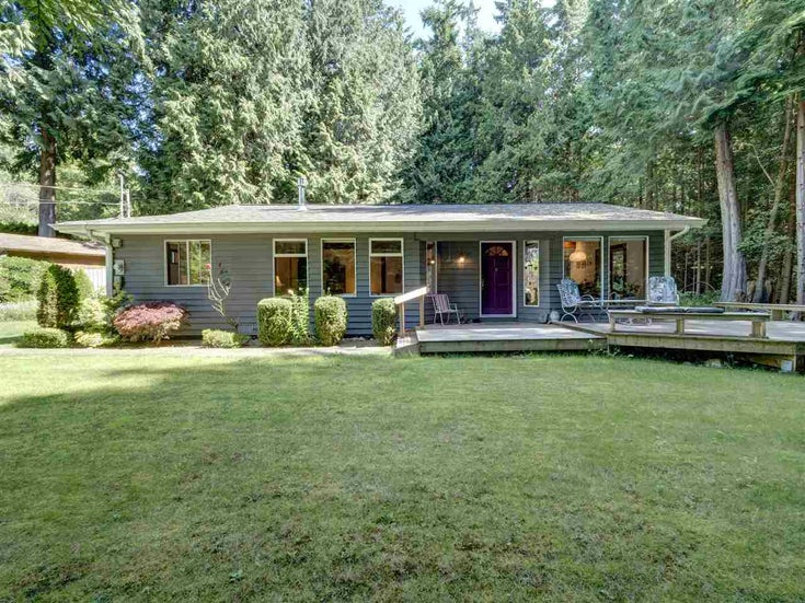 2592 SYLVAN DRIVE - Roberts Creek House/Single Family for sale, 3 Bedrooms (R2478793)
