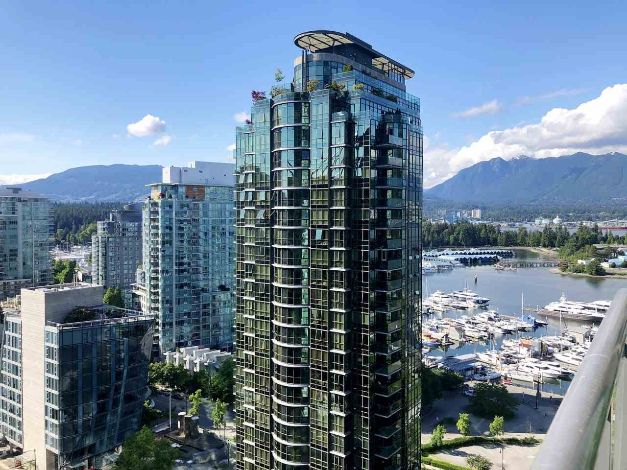 2302 1328 W PENDER STREET - Coal Harbour Apartment/Condo for sale, 2 Bedrooms (R2478899)