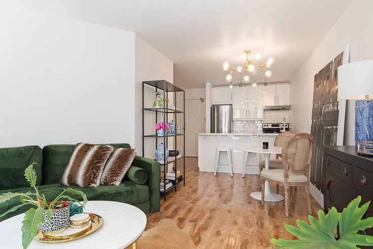 207 1333 HORNBY STREET - Downtown VW Apartment/Condo for sale, 1 Bedroom (R2479265)