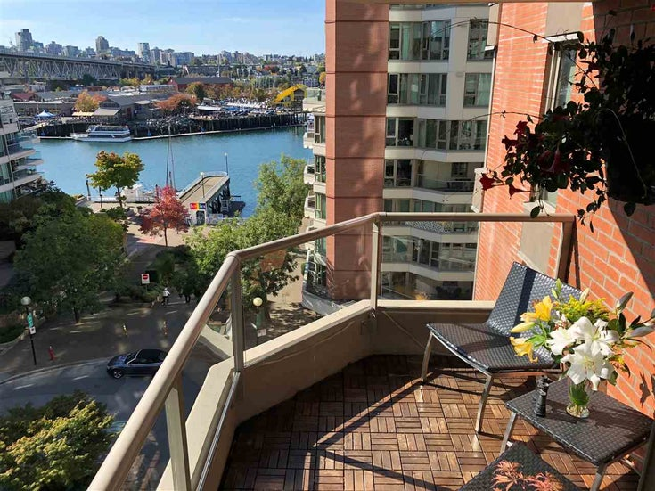 601 1625 HORNBY STREET - Yaletown Apartment/Condo for sale, 1 Bedroom (R2479296)