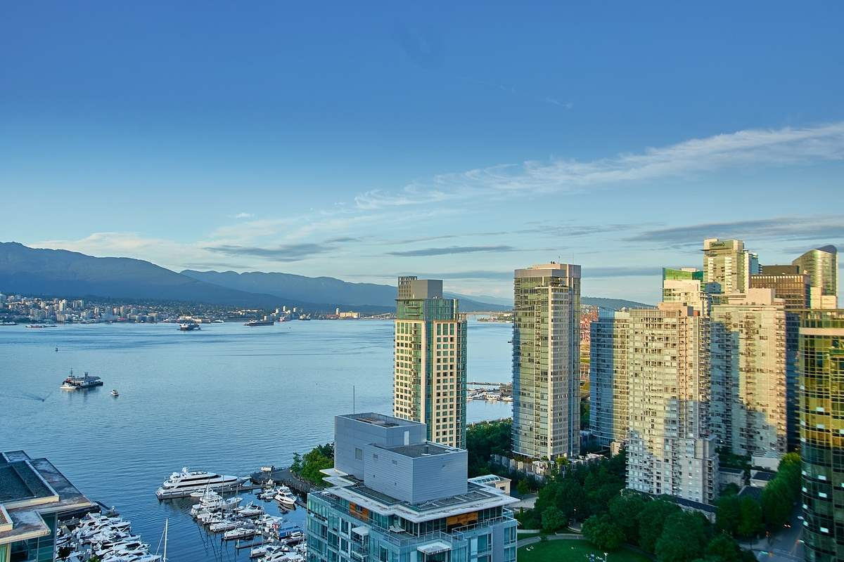 2802 1499 W PENDER STREET - Coal Harbour Apartment/Condo for sale, 3 Bedrooms (R2479350) - #1