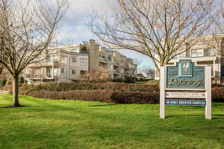 108 4743 W RIVER ROAD - Ladner Elementary Apartment/Condo for sale, 2 Bedrooms (R2479410)