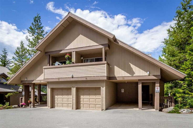 14 2240 GONDOLA WAY - Whistler Creek Townhouse for sale, 3 Bedrooms (R2479430)
