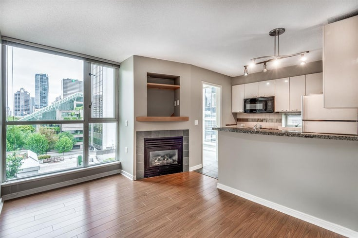 801 1068 HORNBY STREET - Downtown VW Apartment/Condo for sale, 1 Bedroom (R2479548)