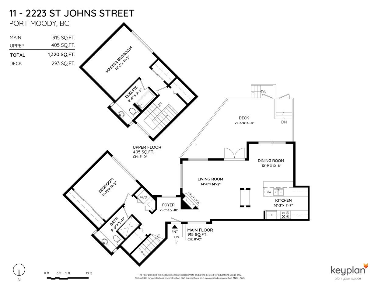 11 2223 ST JOHNS STREET - Port Moody Centre Townhouse for sale, 2 Bedrooms (R2479968) - #22