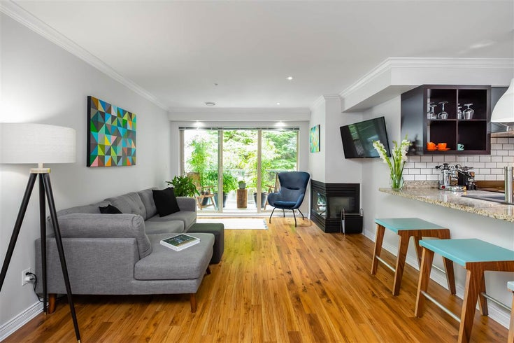 221 332 LONSDALE AVENUE - Lower Lonsdale Apartment/Condo for sale, 1 Bedroom (R2480097)