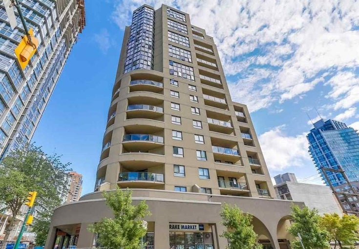 505 789 DRAKE STREET - Downtown VW Apartment/Condo for sale, 1 Bedroom (R2480174)