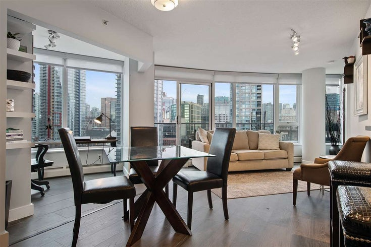 1703 58 KEEFER PLACE - Downtown VW Apartment/Condo for sale, 2 Bedrooms (R2480311)