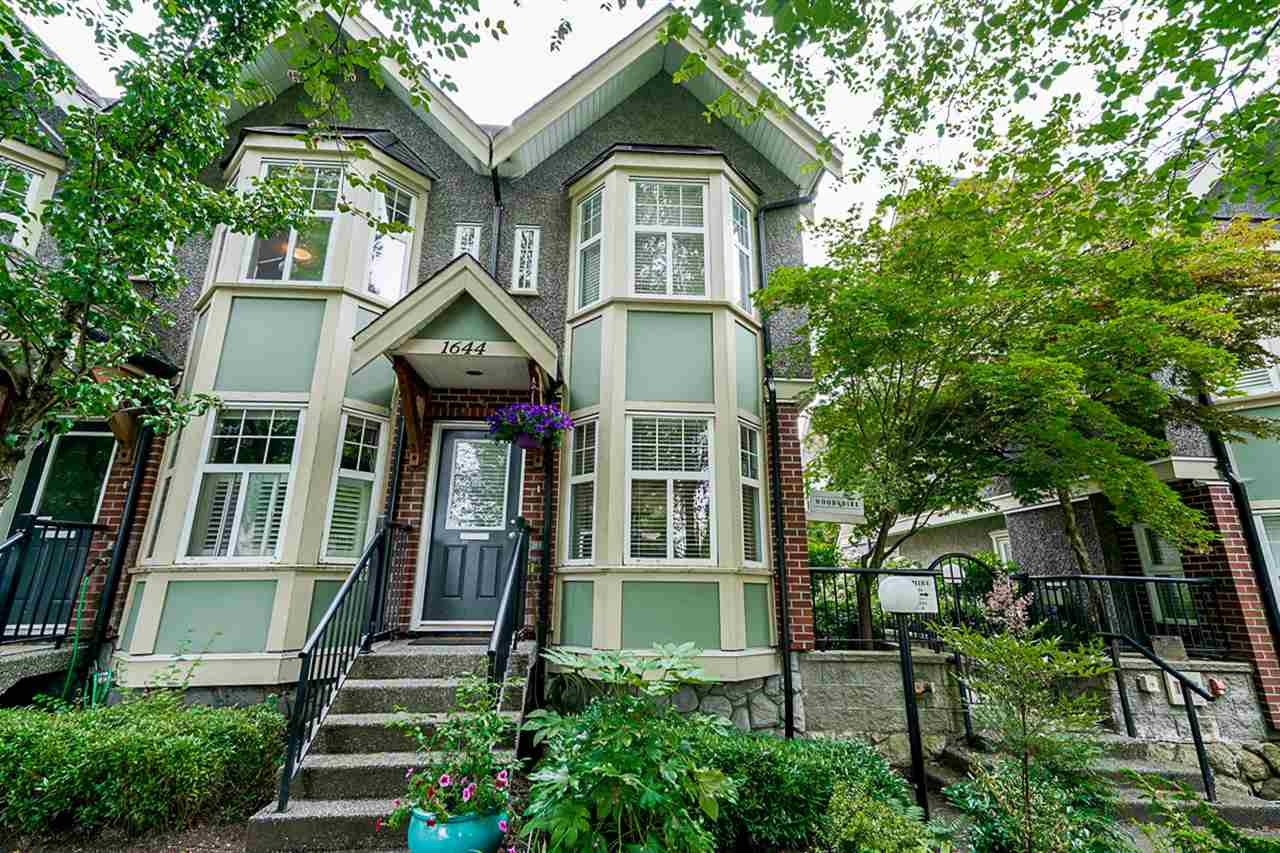 1644 E GEORGIA STREET - Hastings Townhouse for sale, 2 Bedrooms (R2480572) - #1