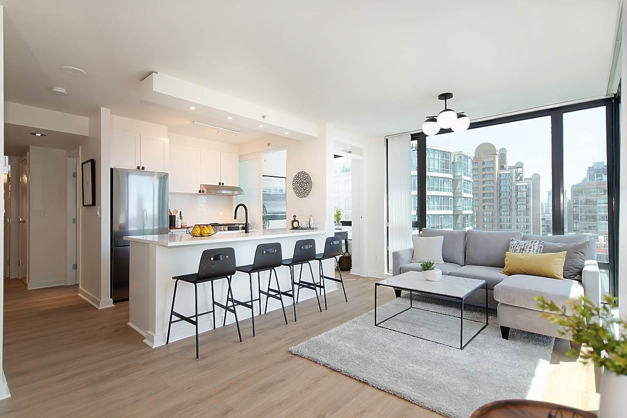 1204 1003 BURNABY STREET - West End VW Apartment/Condo for sale, 1 Bedroom (R2480590) - #1