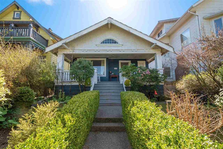 4448 W 4TH AVENUE - Point Grey House/Single Family for sale, 2 Bedrooms (R2480676)