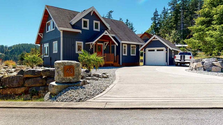 SL43 4622 SINCLAIR BAY ROAD - Pender Harbour Egmont House/Single Family for sale, 3 Bedrooms (R2480681)