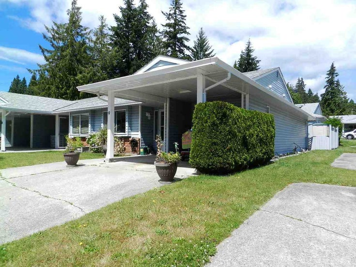 9 824 NORTH ROAD - Gibsons & Area Townhouse for sale, 2 Bedrooms (R2480851)
