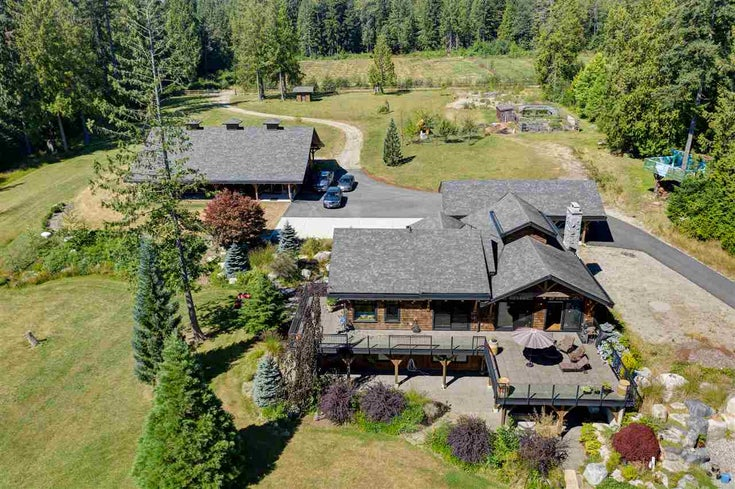 981 CHAMBERLIN ROAD - Gibsons & Area House with Acreage for sale, 4 Bedrooms (R2481276)
