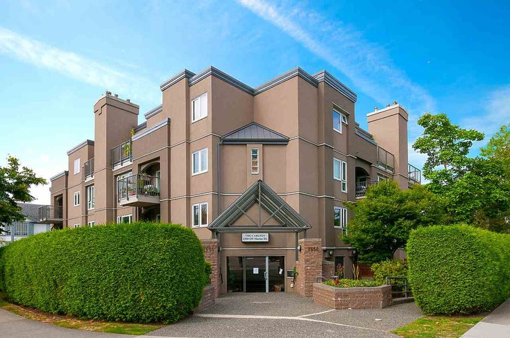 102 1550 SW MARINE DRIVE - Marpole Apartment/Condo for sale, 1 Bedroom (R2481390)