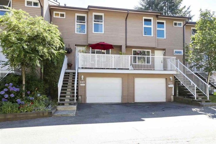557 CARLSEN PLACE - North Shore Pt Moody Townhouse for sale, 4 Bedrooms (R2481494)