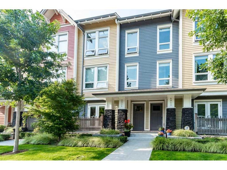 4901 47A AVENUE - Ladner Elementary Townhouse for sale, 3 Bedrooms (R2481522)