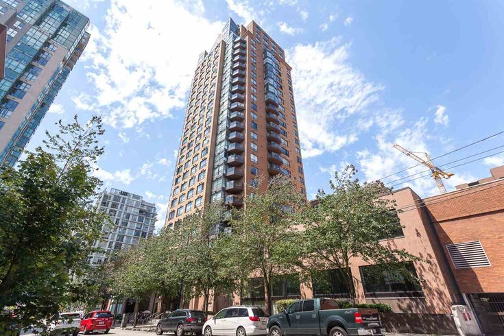 1603 1189 HOWE STREET - Downtown VW Apartment/Condo for sale, 1 Bedroom (R2481607)