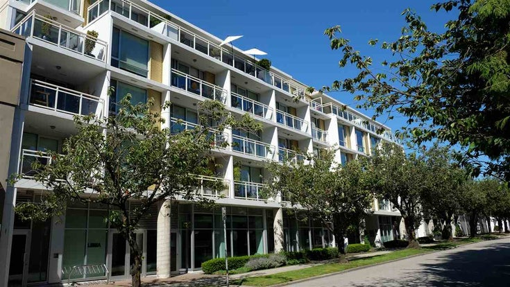 416 1635 W 3RD AVENUE - False Creek Apartment/Condo for sale, 1 Bedroom (R2481622)