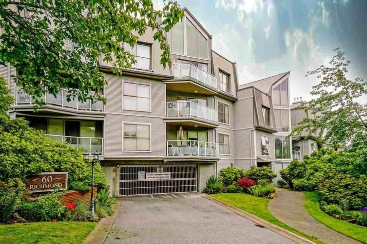 105 60 RICHMOND STREET - Fraserview NW Apartment/Condo for sale, 1 Bedroom (R2481773)