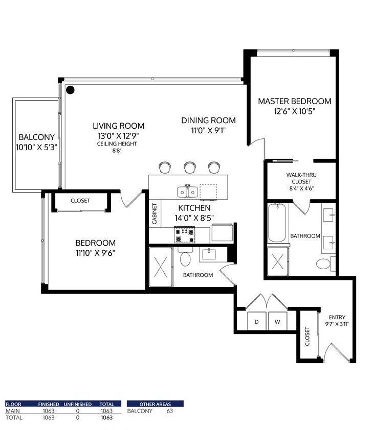 1603 301 CAPILANO ROAD - Port Moody Centre Apartment/Condo for sale, 2 Bedrooms (R2481892) - #30