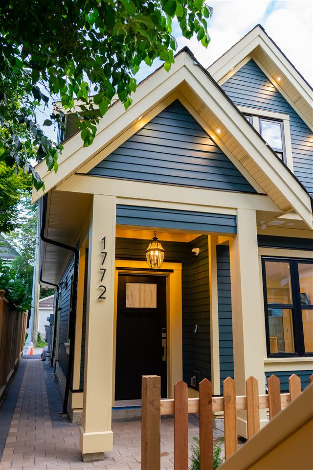 1772 E 14TH AVENUE - Grandview Woodland Townhouse for sale, 2 Bedrooms (R2481990)
