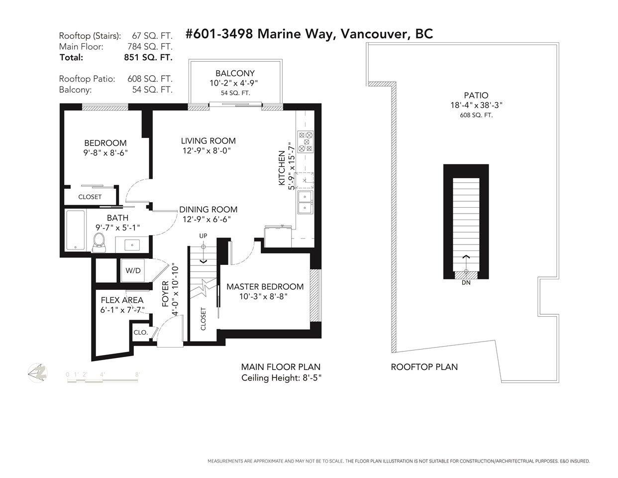 601 3498 MARINE WAY - South Marine Apartment/Condo for sale, 2 Bedrooms (R2482058) - #38