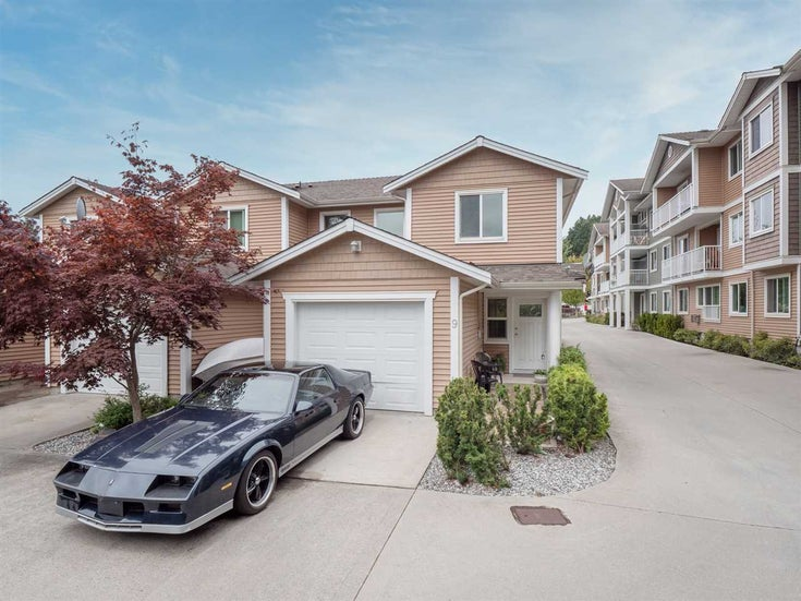 9 624 SHAW ROAD - Gibsons & Area Townhouse for sale, 4 Bedrooms (R2482220)