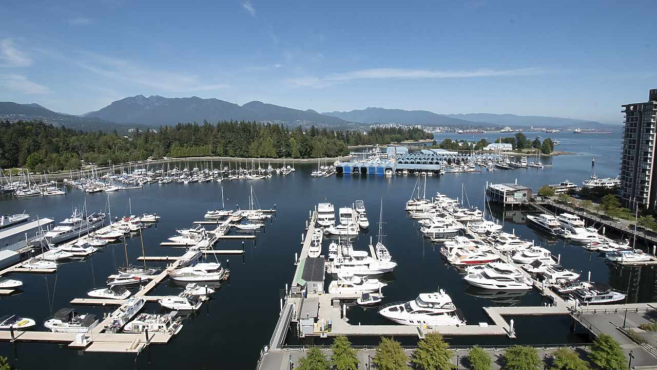 PH4 1777 BAYSHORE DRIVE - Coal Harbour Apartment/Condo for sale, 4 Bedrooms (R2482322)