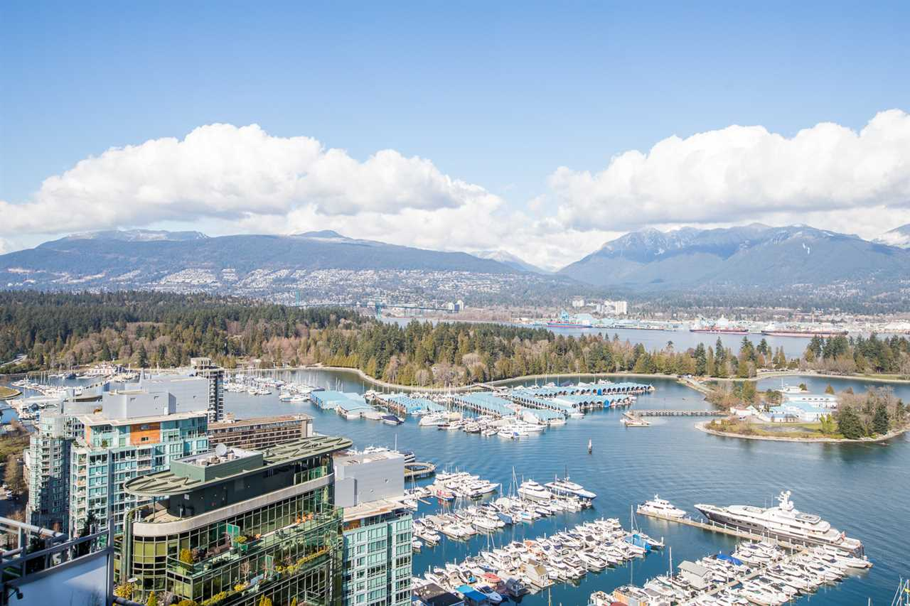 3802 1328 W PENDER STREET - Coal Harbour Apartment/Condo for sale, 3 Bedrooms (R2482481) - #1