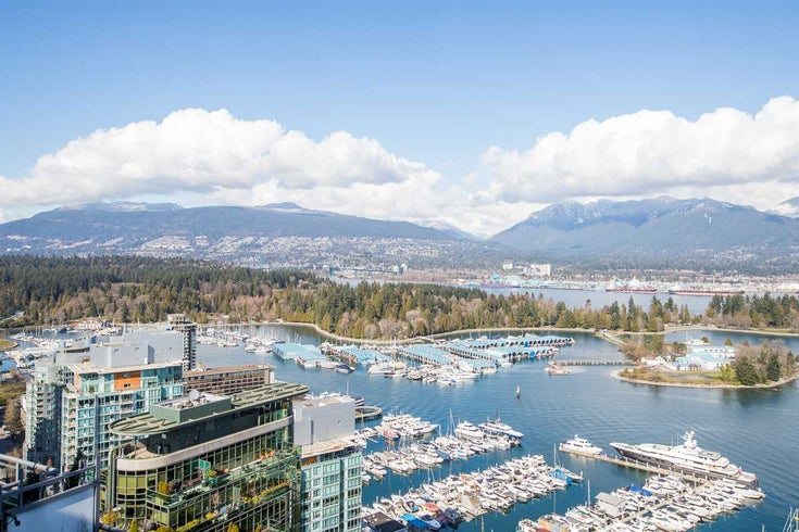 3802 1328 W PENDER STREET - Coal Harbour Apartment/Condo for sale, 3 Bedrooms (R2482481)