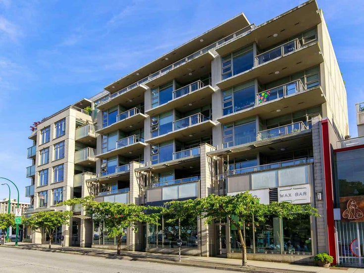 407 1808 W 1ST AVENUE - Kitsilano Apartment/Condo for sale, 2 Bedrooms (R2482491)