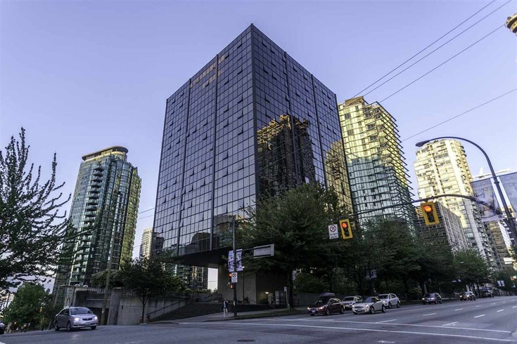 1101 1333 W GEORGIA STREET - Coal Harbour Apartment/Condo for sale, 1 Bedroom (R2482507)