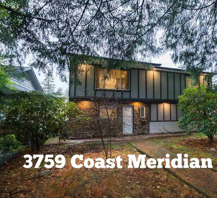 3759 COAST MERIDIAN ROAD - Oxford Heights House/Single Family for sale, 4 Bedrooms (R2482873)