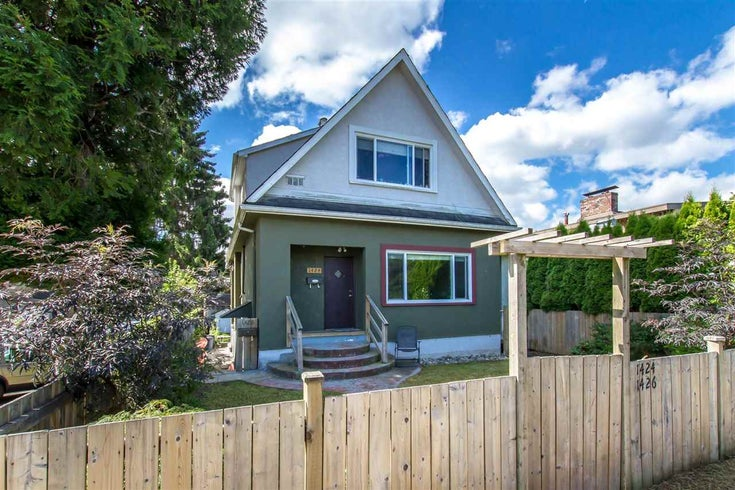 1424 E 13TH AVENUE - Grandview Woodland House/Single Family for sale, 6 Bedrooms (R2482889)