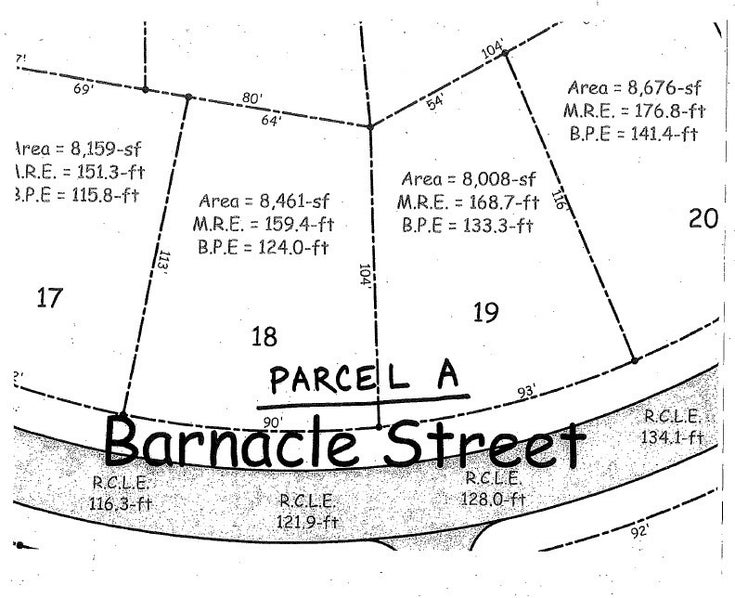 PARCEL A BARNACLE STREET - Sechelt District  for sale(R2482902)