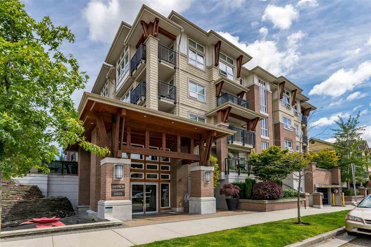 420 6828 ECKERSLEY ROAD - Brighouse Apartment/Condo for sale, 1 Bedroom (R2483230)