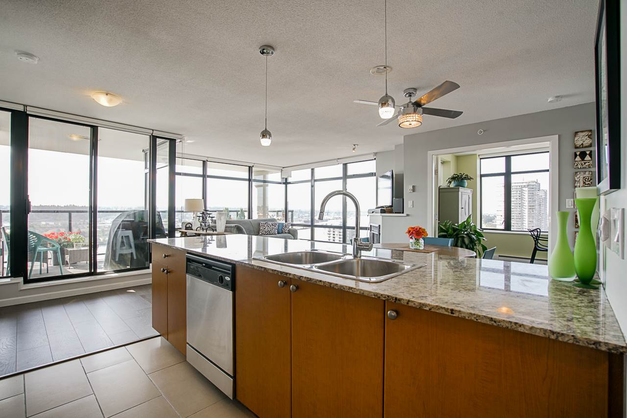 1704 610 VICTORIA STREET - Downtown NW Apartment/Condo for sale, 2 Bedrooms (R2483281)