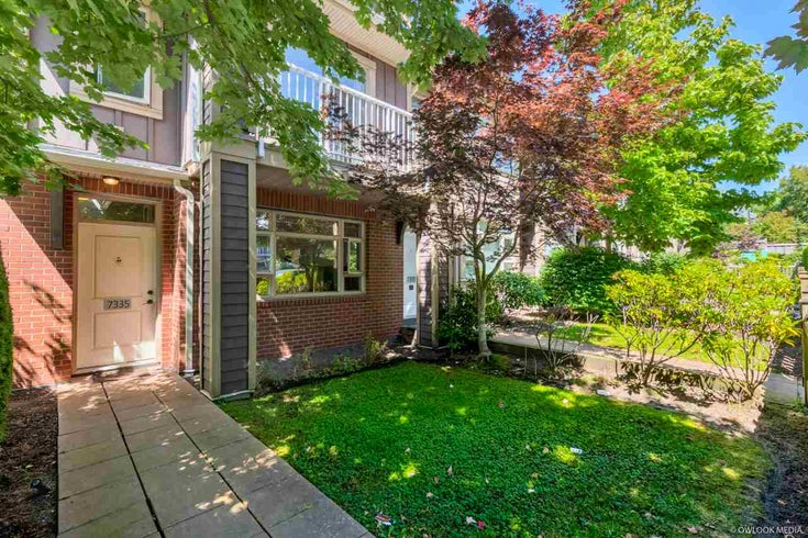 7335 MACPHERSON AVENUE - Metrotown Townhouse for sale, 2 Bedrooms (R2483354)